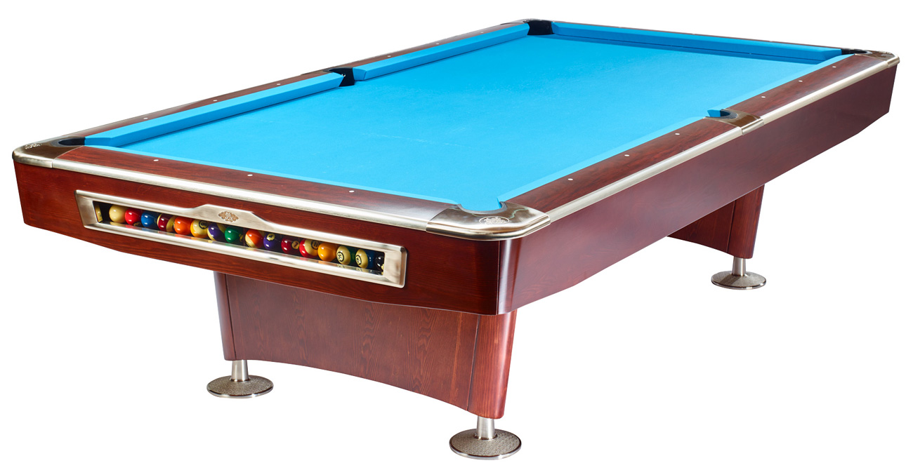 Olio pool table 4983 mahagony 8ft for sale at beckmann billiards shop - Acheter billard table ...