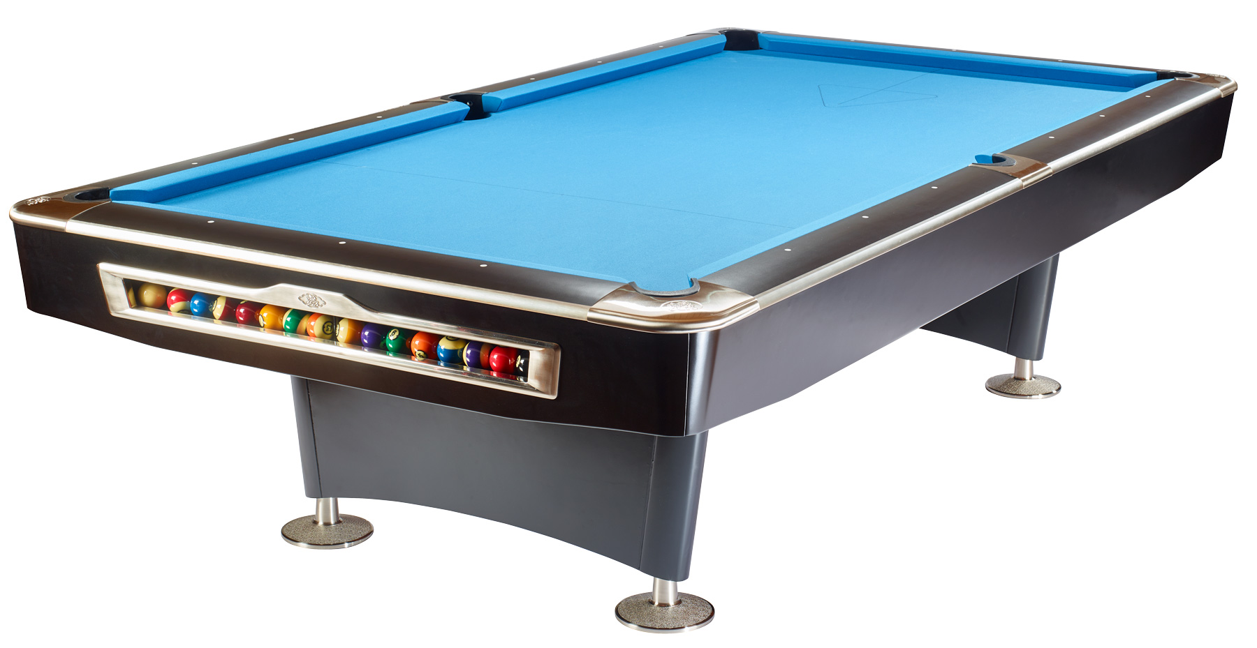 Olio pool table 4809 mattblack 8ft for sale at beckmann billiards shop - Photos of pool tables ...
