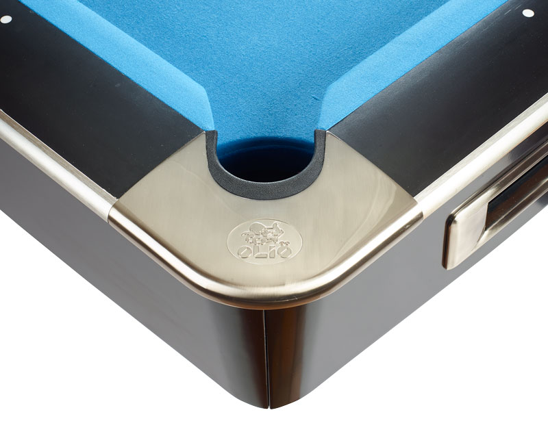 Olio Pool Table Mattblack Ft For Sale At Beckmann Billiards Shop - Olio pool table
