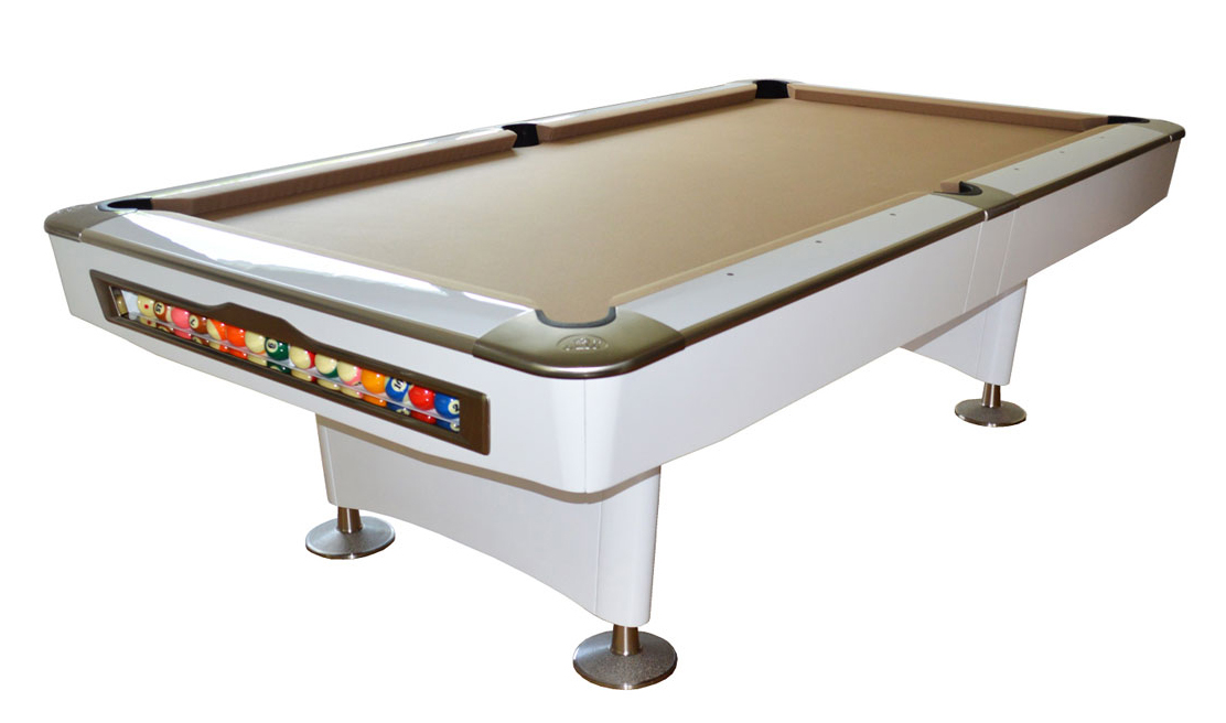 Olio Pool Table White Ft For Sale At Beckmann Billiards Shop - Olio pool table