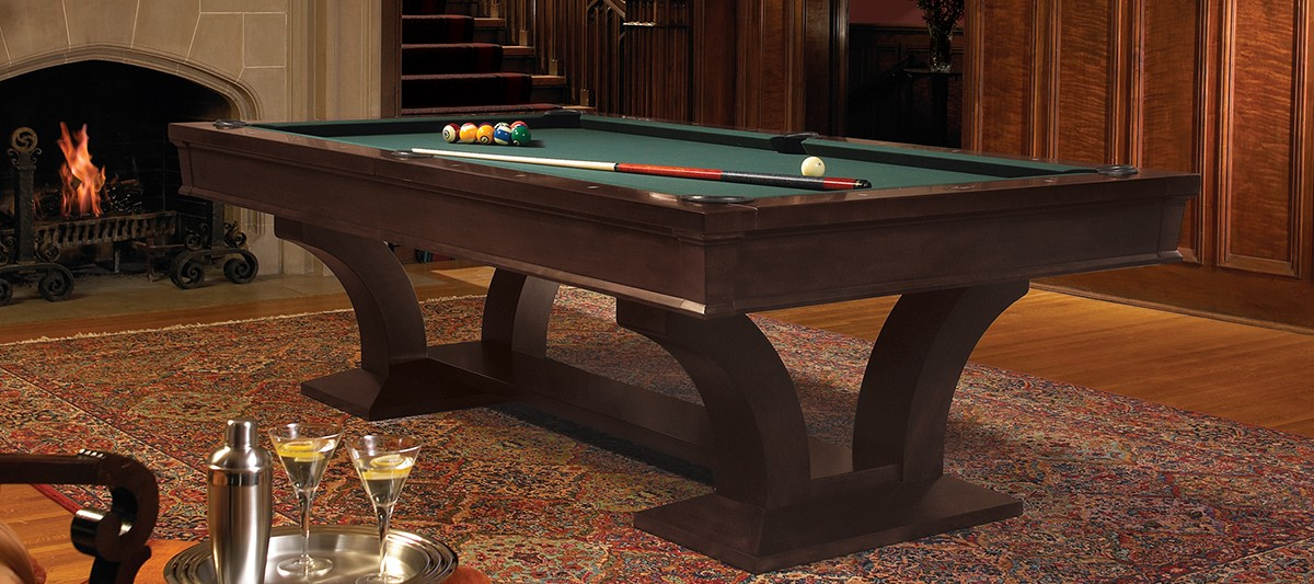 Brunswick Pool Table Treviso Espresso 8ft