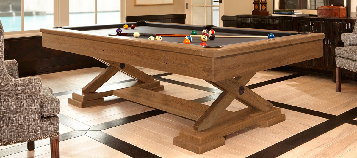Billiard table pool brunswick brixton beachwood 8ft for for Brunswick pool tables