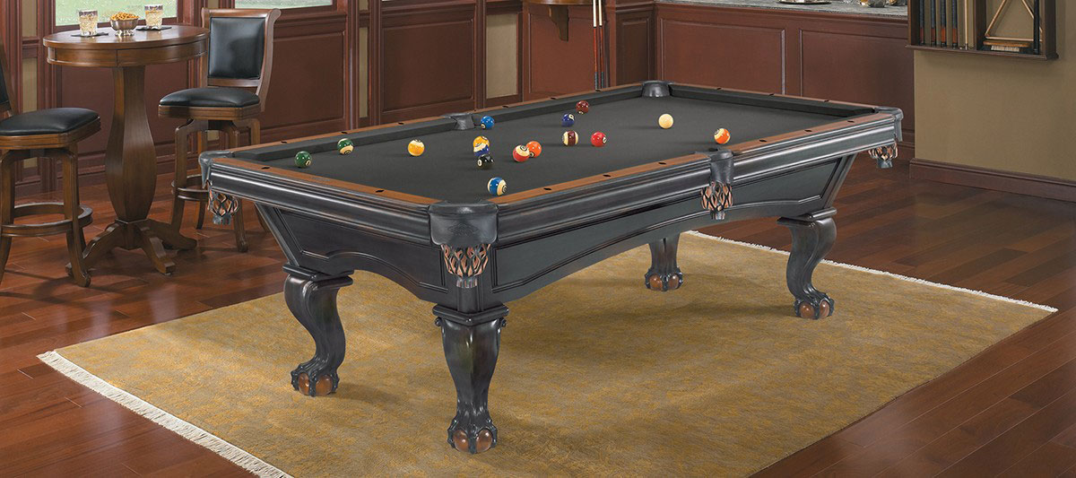 Billiard Table Pool Brunswick Glenwood Black/Chestnut 8ft