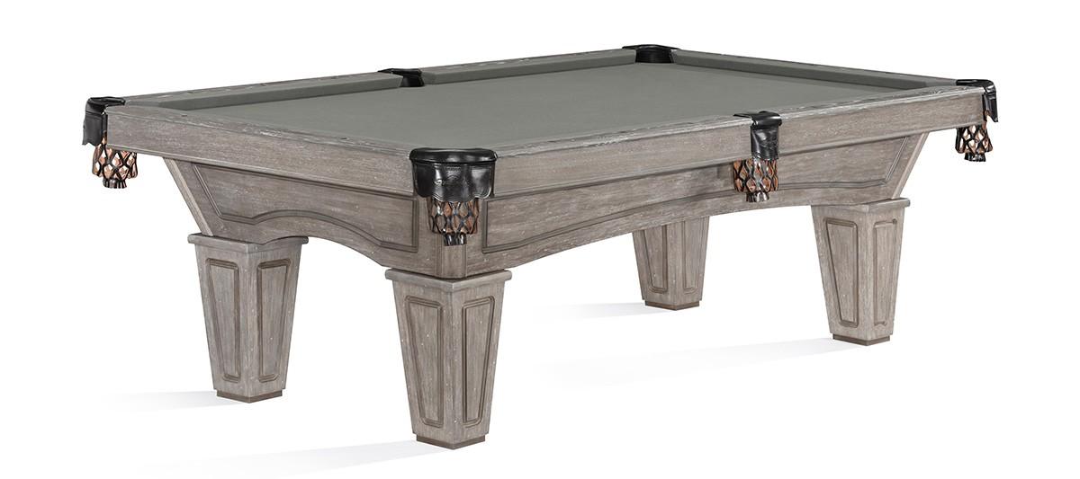 Billiard Pool Table Brunswick Allenton 8ft Driftwood For At Beckmann Billiards - Are Brunswick Pool Tables Good