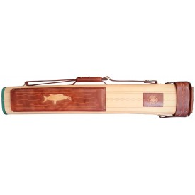 Billiard Cue Hard Case Cyber brown 2/4, 85cm