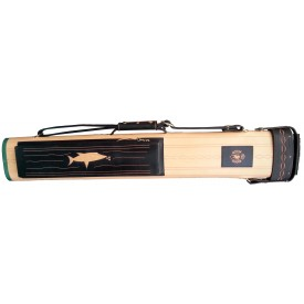 Billiard Cue Hard Case Cyber dark brown 2/4, 85cm