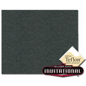Billardtuch Championship 168cm Invitational Teflon 21oz Dark Grey #074
