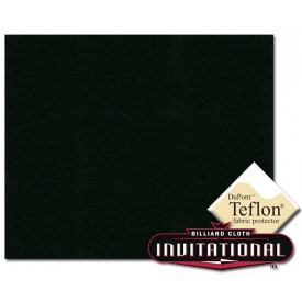 Billardtuch Championship 168cm Invitational Teflon 21oz Black #077