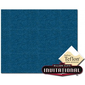 Billardtuch Championship 168cm Invitational Teflon 21oz Electric Blue #043