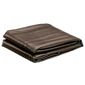 Table Cover Vinyl brown 8ft