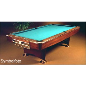 Brunswick pool table Gold Crown III Rosewood 9ft. **used**