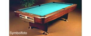 Brunswick Gold Crown III Rosewood 9ft **Gebraucht*