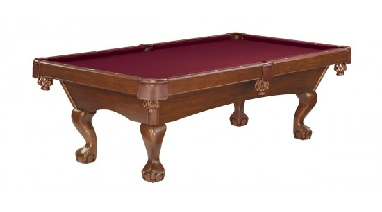 Pooltisch Brunswick Tremont Chestnut 8ft Billardti