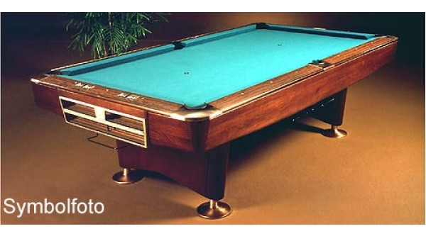 Brunswick Gold Crown III Ft Used For Sale At Beckmann Billiards Shop - Brunswick gold crown pool table for sale