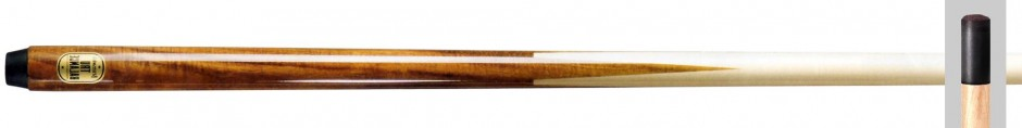 Brunswick Billard-Queue True Balance einteilig mit Klebeleder 13mm