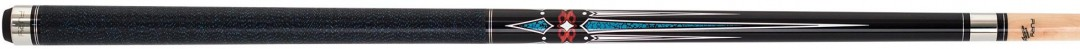 Billard Queue Fury AG-123 A, schwarz, True-Loc