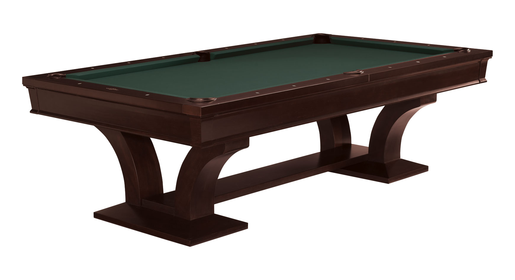 Brunswick pool table treviso espresso 9ft for sale at for Brunswick pool tables