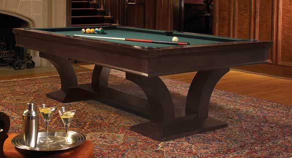Genial Brunswick Pool Table Treviso Espresso 9ft
