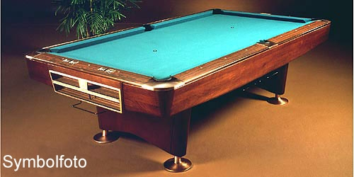 Brunswick Gold Crown III 9ft *used* for Sale at Beckmann Billiards Shop