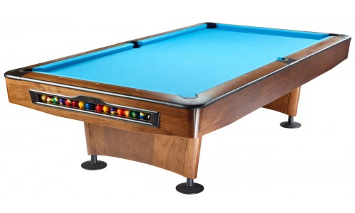 Pooltisch Olio 4989 Walnußholz, 9ft; NEU 2017