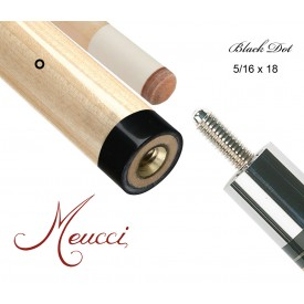 Meucci Queue Oberteil Black Dot 13mm