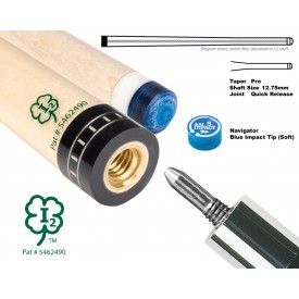 McDermott  I-2 pool cue Shaft QR Joint