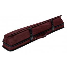 Cue Soft Case Predator URBAIN 2/4, red, shoulder strap