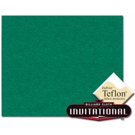 Billardtuch Championship 168cm Invitational Teflon 21oz Yellow Green #031