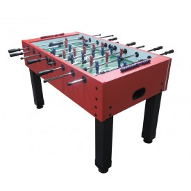 Footballtable Champ, color red