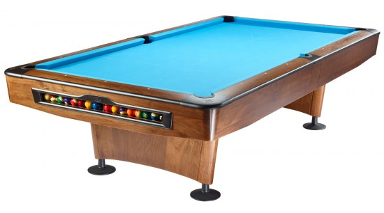 Pool Billardtisch Olio 4989 Walnußholz, 9 Fuß (9ft