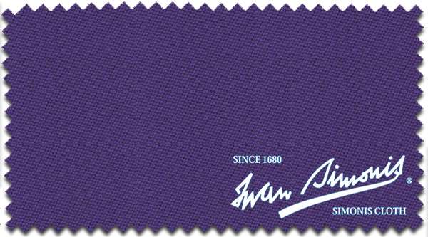 Simonis Pool Felt 860 165cm Purple