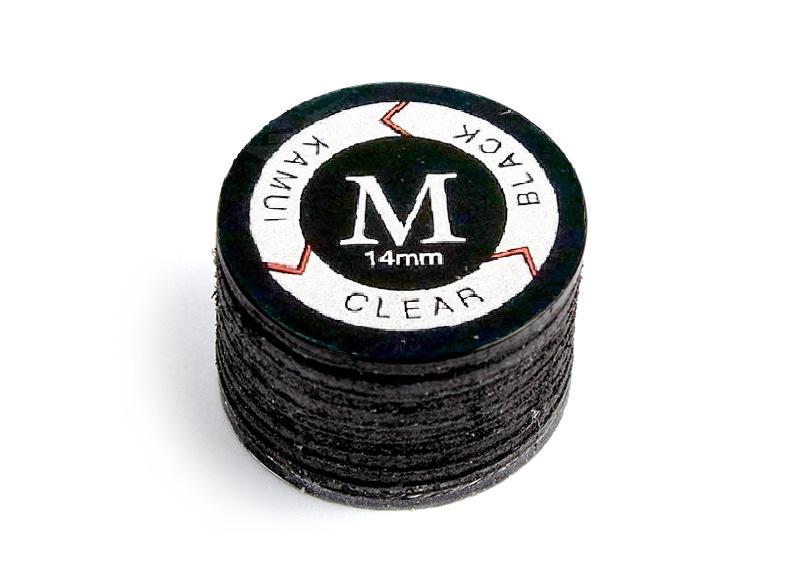 medium Klebeleder Kamui black 14mm M