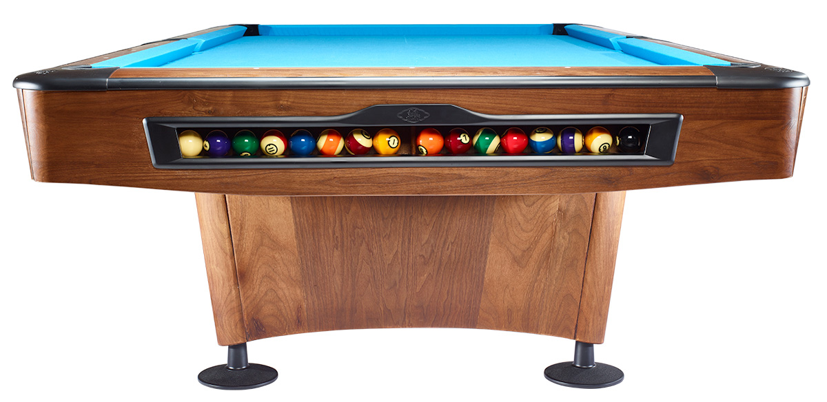 Olio Pool Table 4989 Walnut Wood, 9ft