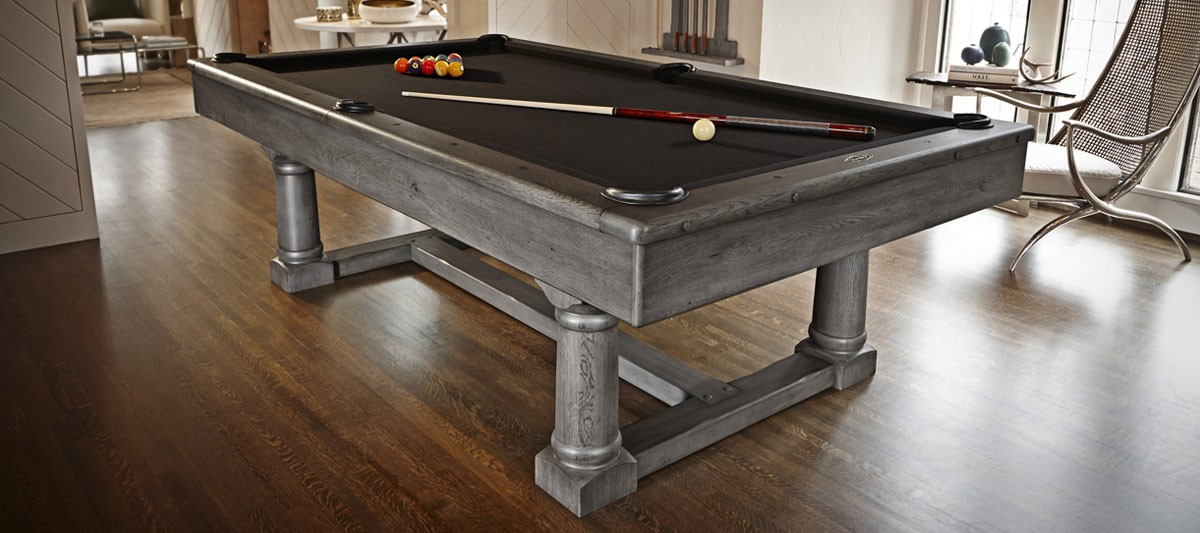 Brunswick Pool Table Park Falls Ft Grey Stone For Sale At Beckmann - Stone pool table