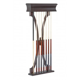 Cue Wall Rack Brunswick Lexington, Plum finish