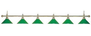Billiardlight, lamp Evergreen 6-Bells