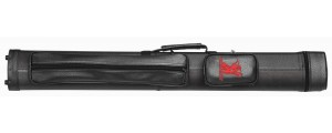 Cue Hard Case Champ 2/2 black/black with shoulder strap, 2x bags