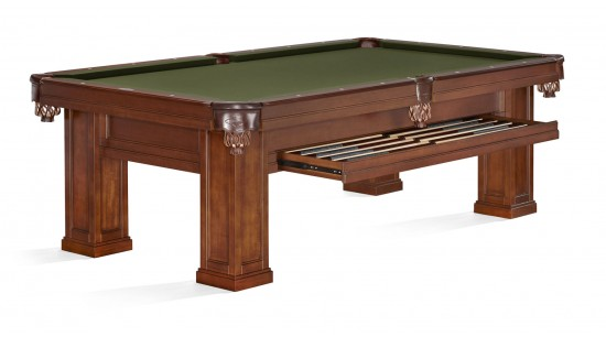 Pool Billardtisch Brunswick Oakland Chestnut 8Fuß