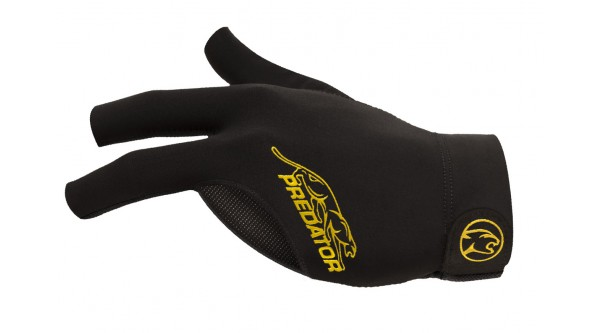 Glove Predator Second-Skin, Black/Yelow, L/XL, left hand
