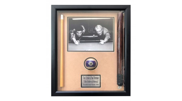 "Photo Frame ""PAUL NEWMAN+TOM CRUISE""  (The Color of Money)"