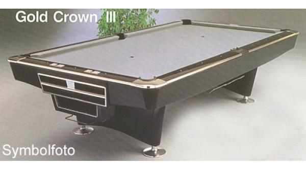 Brunswick Used Pool Tables >> Pool Table Brunswick Gold Crown Iii Hi Tech Black 9ft Used