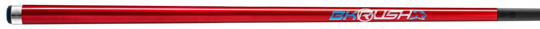 Predator BK Rush Red Break Cue, Revo BK-R Carbon Fiber Shaft