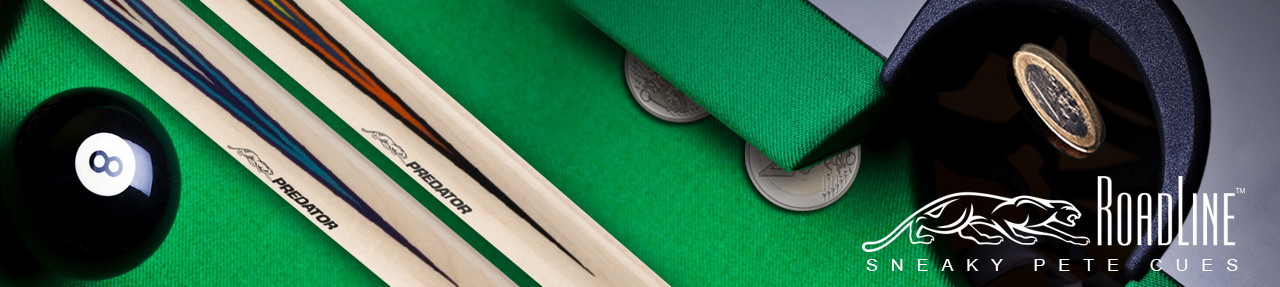 New Predator Sneaky Pete Pool Cues 2017