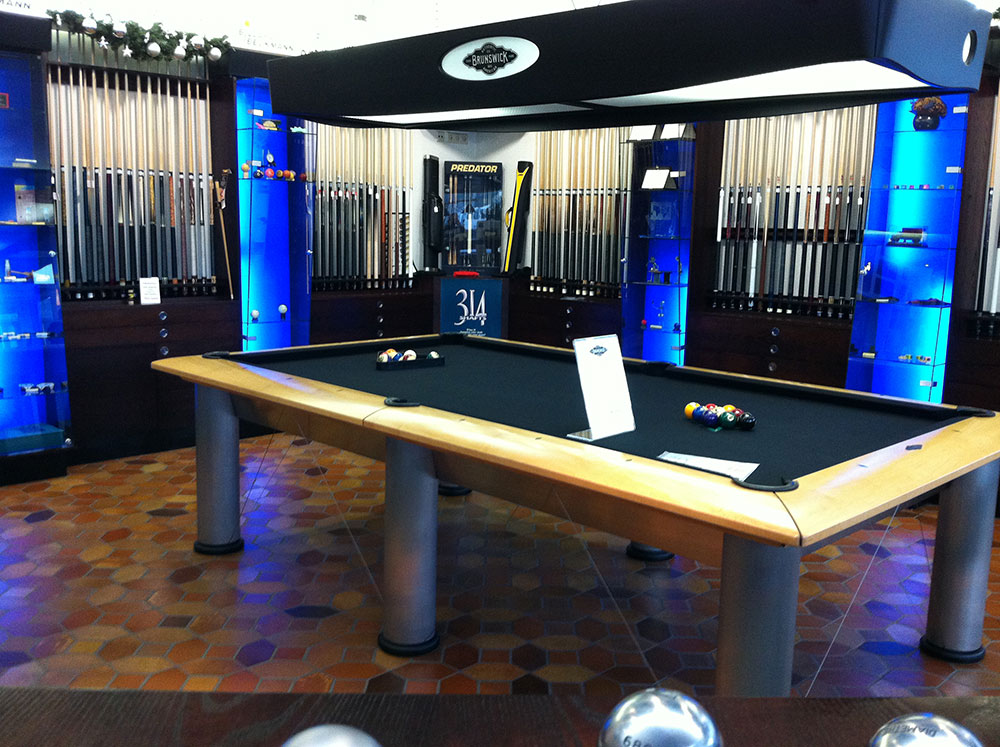 Our store at Beckmann Billiards Shop